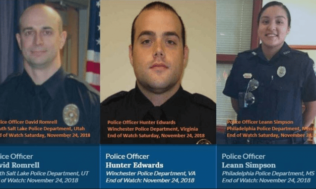 Three Fallen Officers Bring Sober Reminder