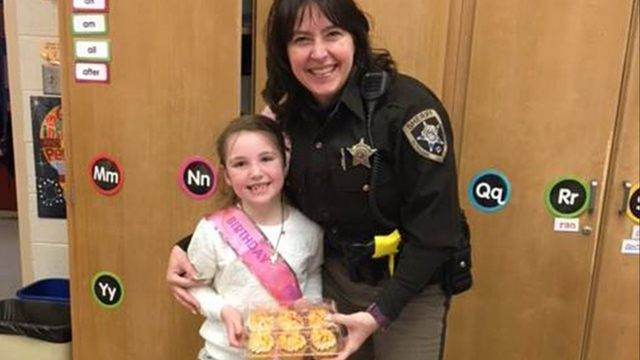 Deputy Buys Girl Birthday Cupcakes After Crash Destroys Hers