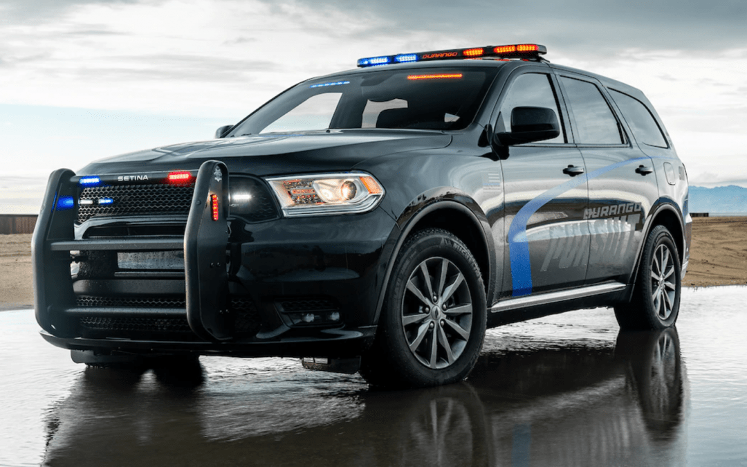 2019 Dodge Durango Pursuit SUV Testing