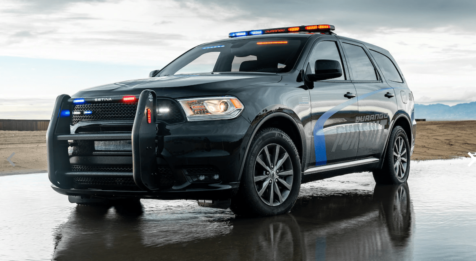 2019 Dodge Durango Pursuit SUV Testing - Law Officer