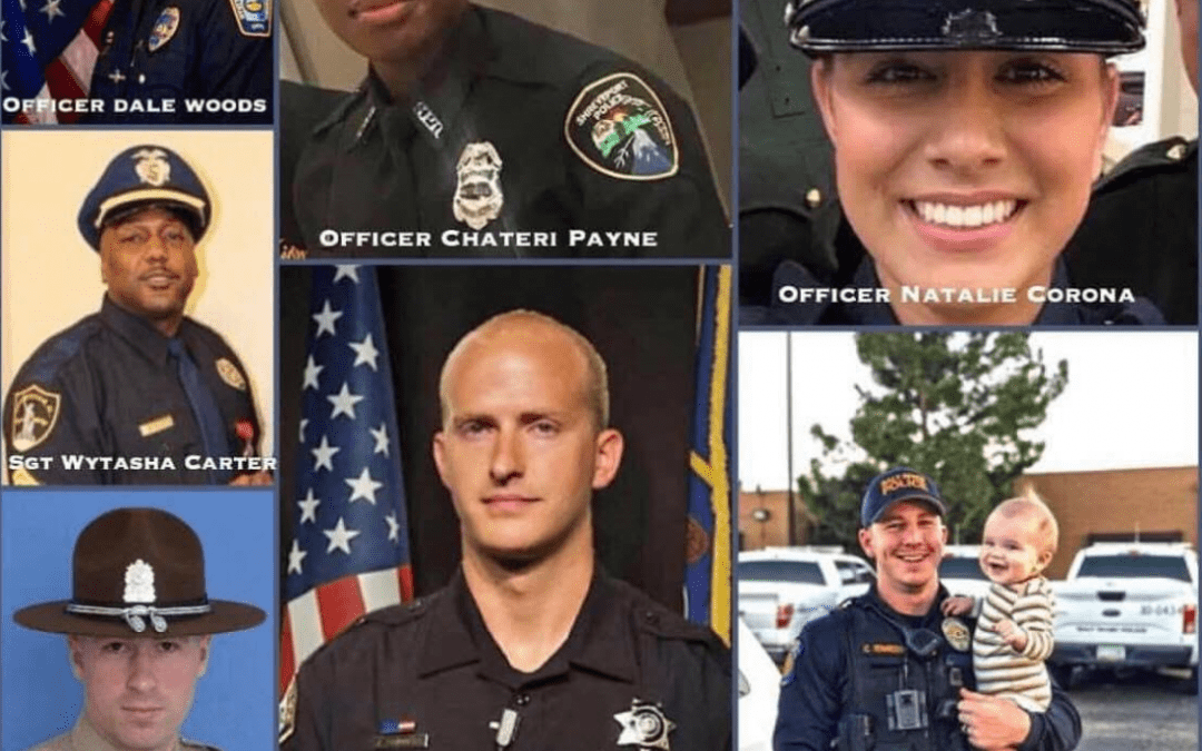 Texas Police Chief Calls On Society To 'Wake Up' After Recent Officer Murders