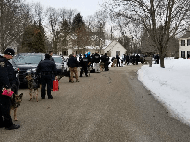 K9 Officers Visit Terminally Ill Girl Who Loves Dogs