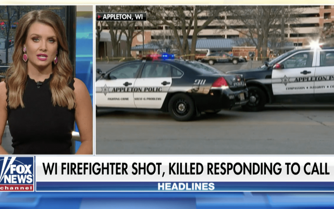 Wisconsin firefighter killed, officer wounded at medical aid call
