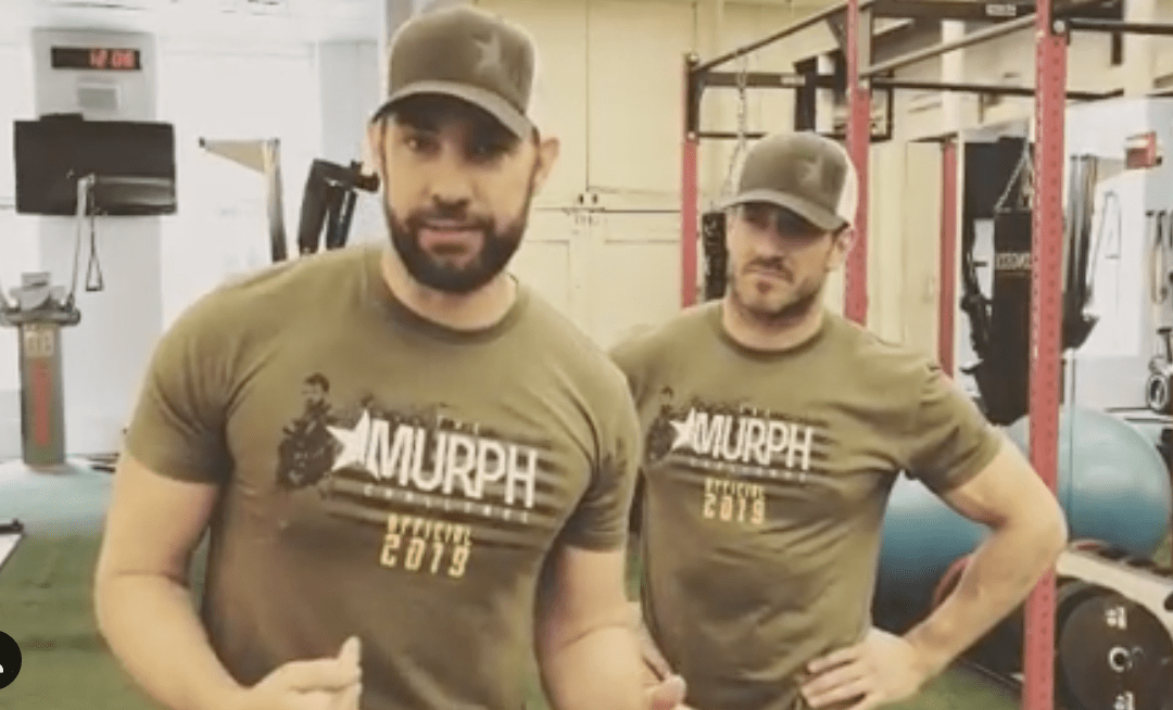 Actor Issues 'The Murph Challenge' for Memorial Day