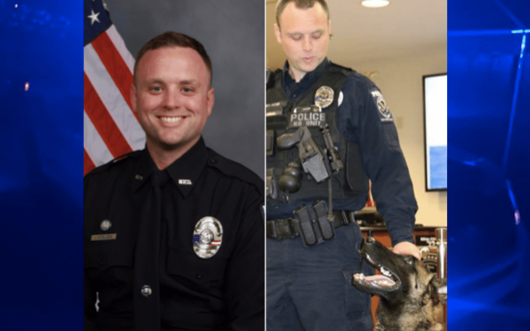 North Carolina police officer killed; suspect cornered before killing himself