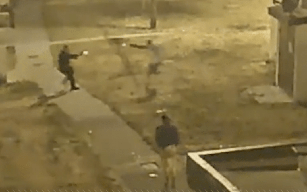 VIDEO: LAPD Officers Ambushed During Foot Pursuit