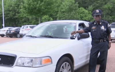 Arkansas Police Officer Turns 90 Years Old