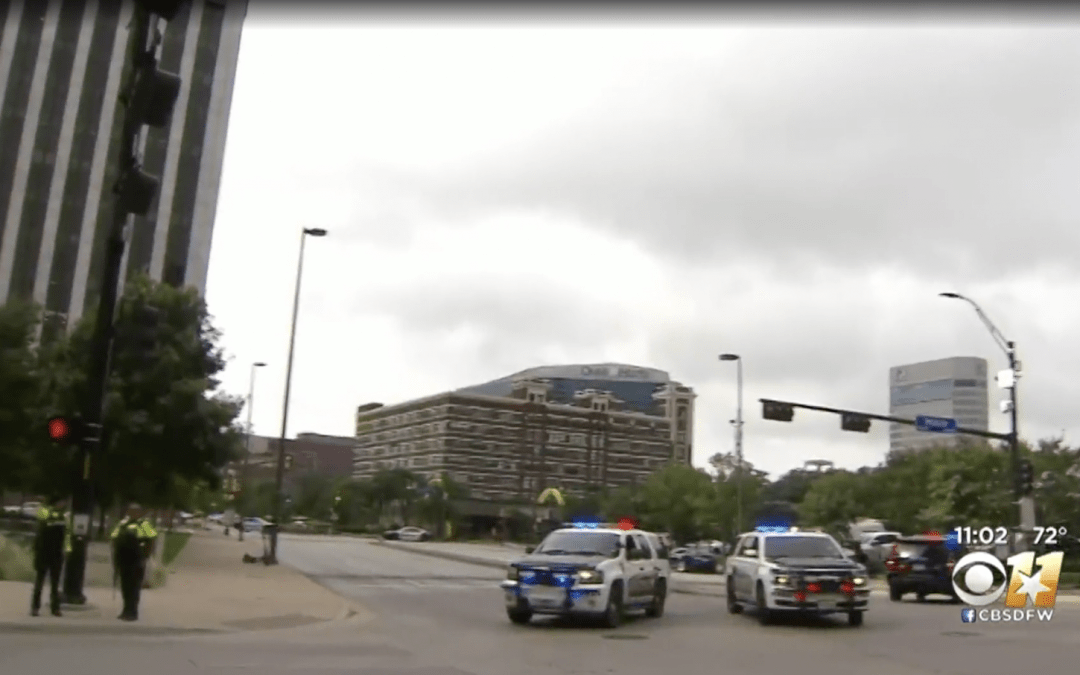 Gunman Killed at Federal Building in Dallas