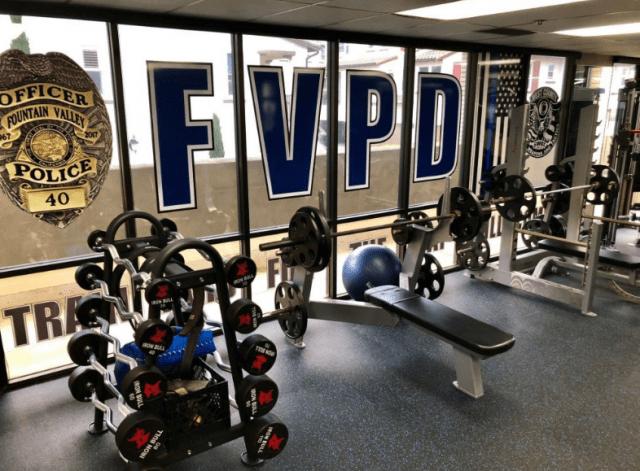 police locker room