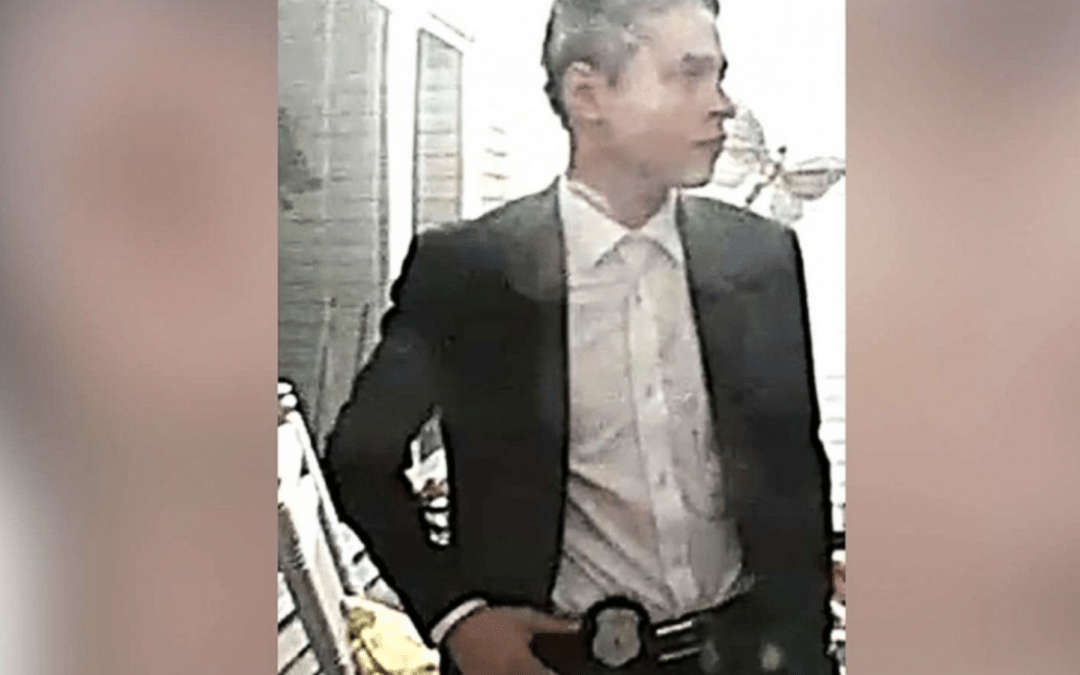 Real Cops Bust Man Impersonating Police Detective