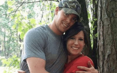 Wife booked for murder of husband who survived two combat tours in Afghanistan