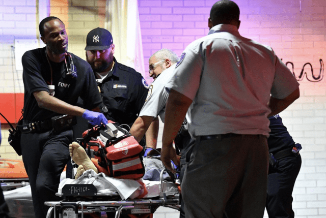 12 people shot at Brooklyn block party, 1 dead