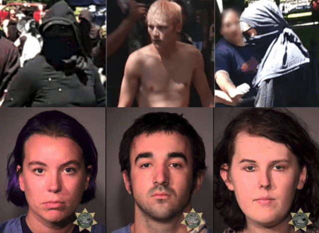 Faces of Hate … Portland Police Union Fed up With City Leadership Over Antifa Antics