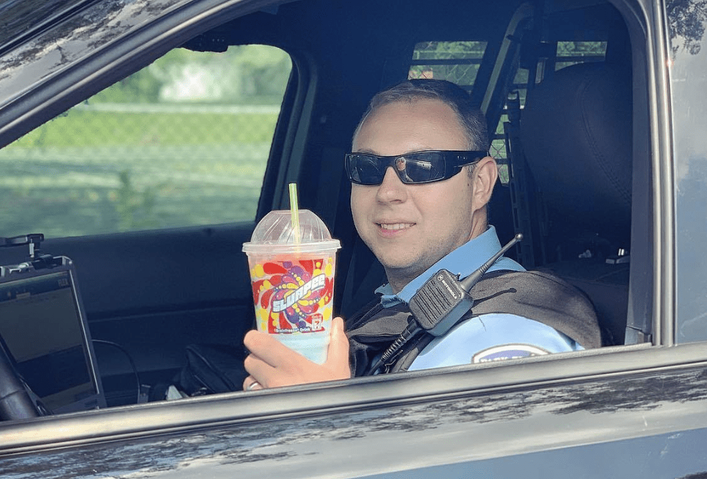 Cops ask crooks to chill out during heat wave