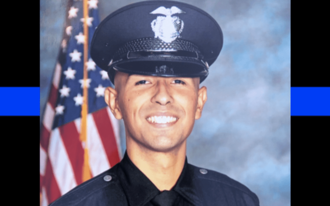 Los Angeles police officer murdered