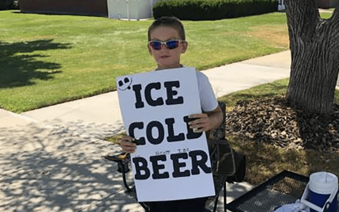 Savvy young entrepreneur draws police attention