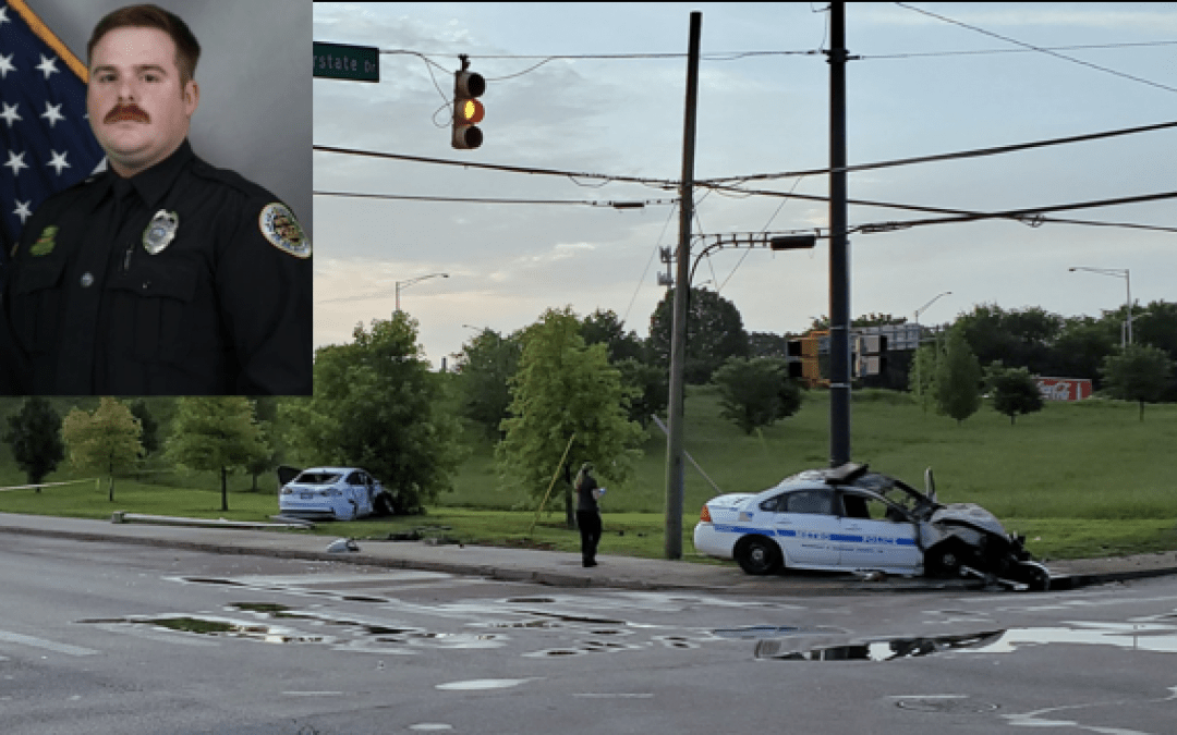 Tennessee officer killed in fiery crash
