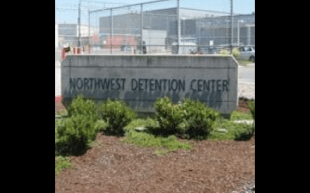 Armed suspect shot and killed after throwing incendiary devices at ICE facility