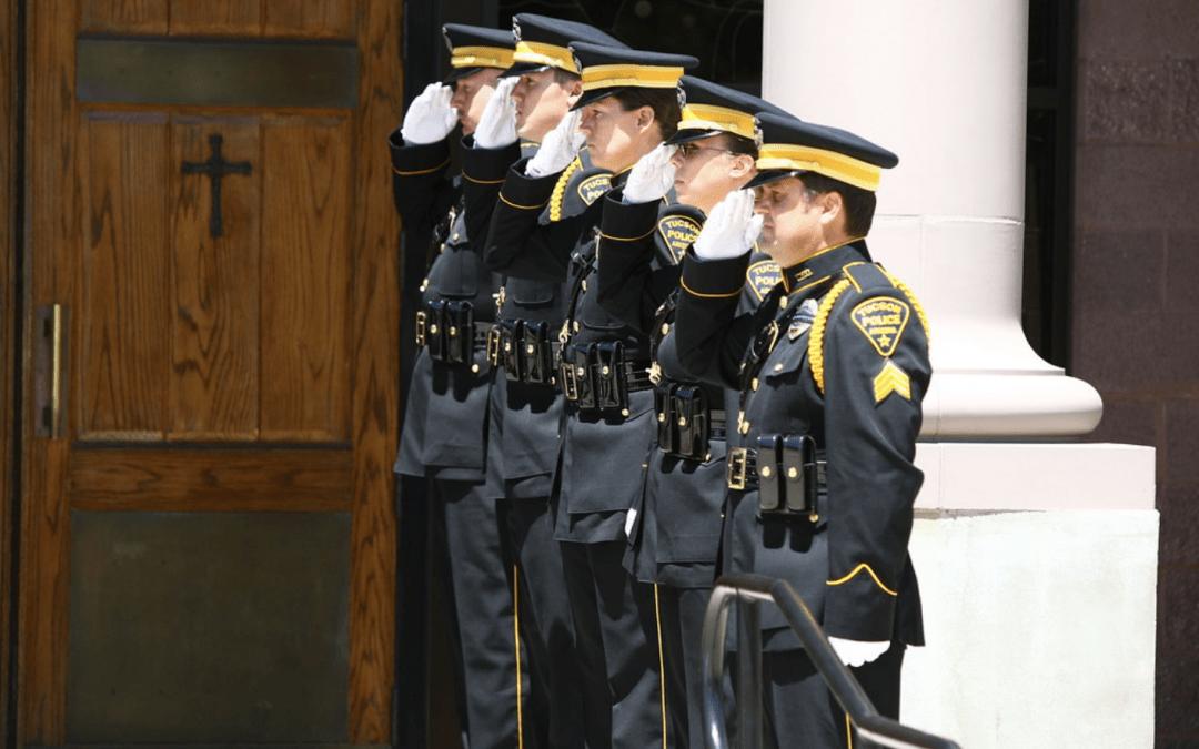 Somber Understanding of a Police Funeral