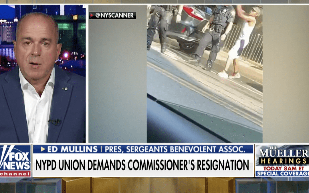 President of New York Sergeants Benevolent Association Calls on Commissioner O'Neal to Resign