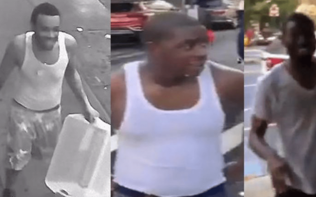 Men dousing officers with buckets of water wanted by NYPD