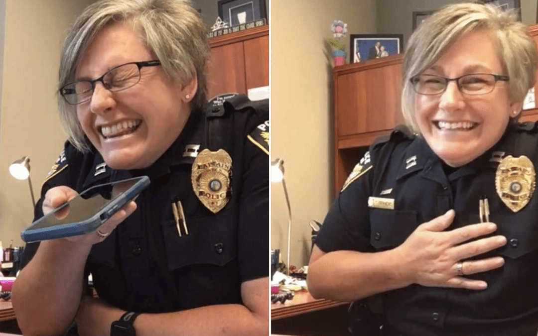 Scam caller gets own medicine from police captain