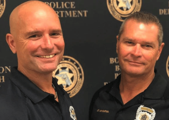 Two career cops who never met discover they are half-brothers