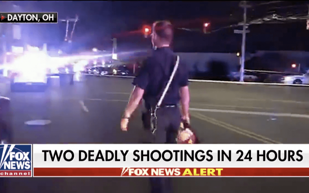 Ohio shooting leaves 9 dead, 26 injured; homicidal suspect killed by police