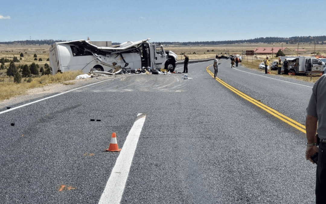 At least 4 killed, 15 critically injured in tour bus crash