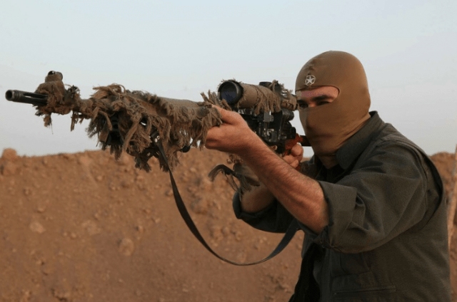 American Citizen Indicted as ISIS Sniper