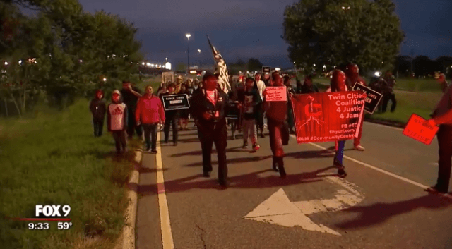 Minnesota protesters block traffic following fatal OIS after pursuit streamed on Facebook Live