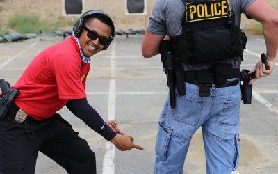 cop smile