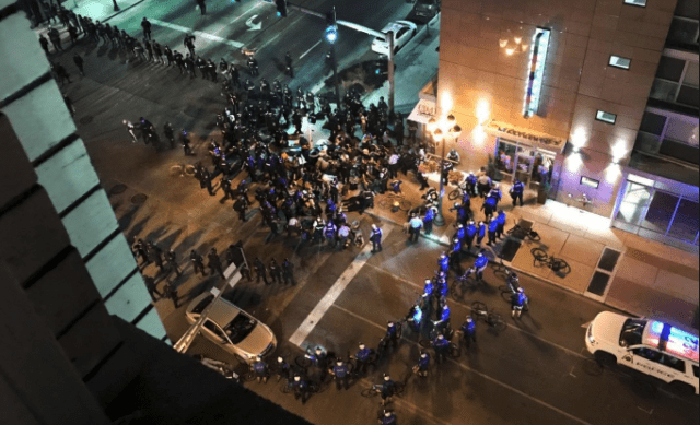 Officer files lawsuit against own agency claiming excessive force while working undercover during protest