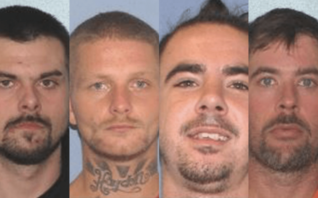 Four inmates on the run after overpowering correctional officers