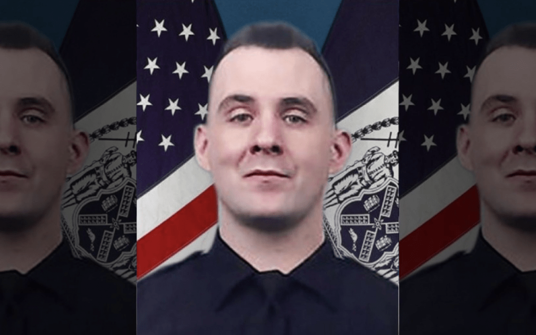 NYPD officer killed by friendly fire