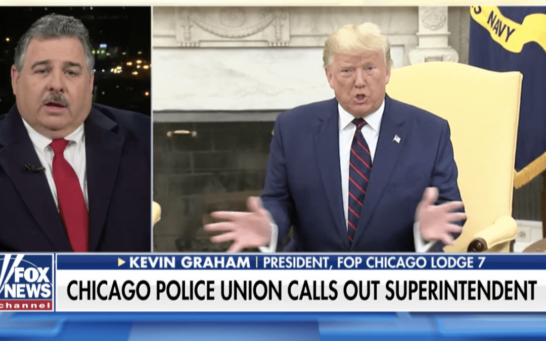 Chicago police union critical of Superintendent Johnson's plan to walk out on President Trump's speech
