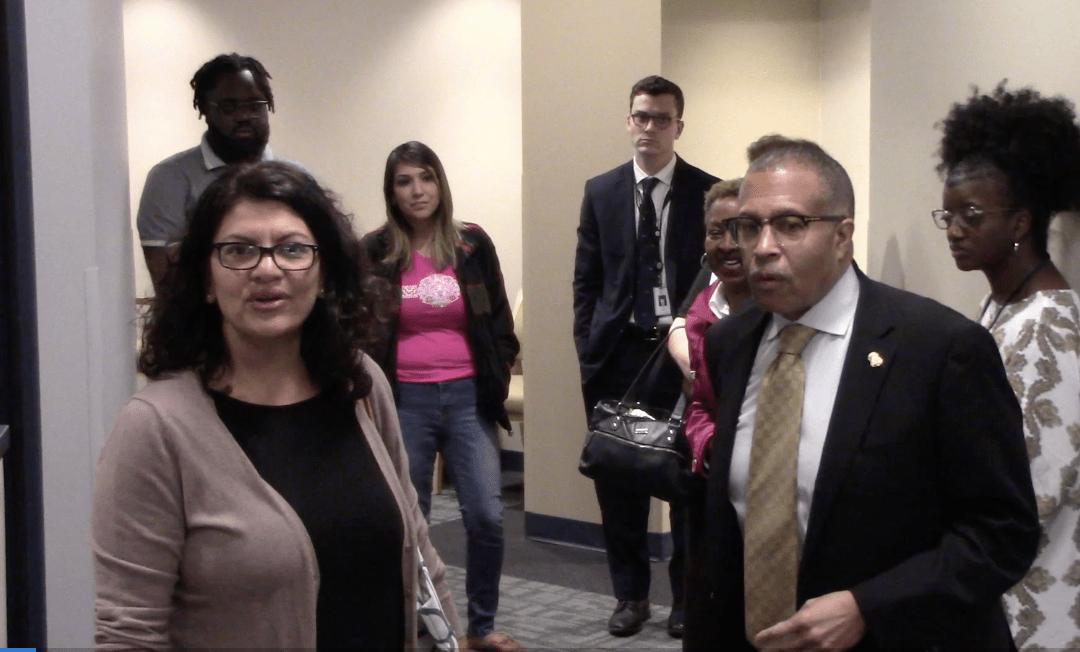 VIDEO: Rashida Tlaib tells Detroit chief non-blacks should not work as facial recognition analysts