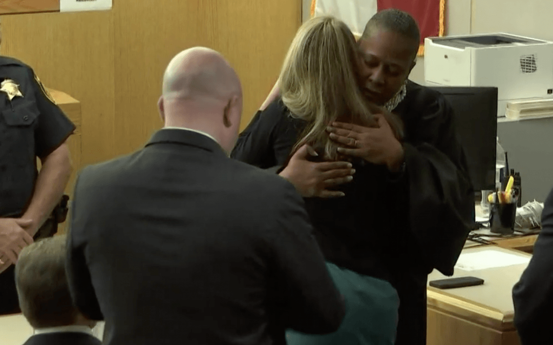 Extraordinary moments in Dallas courtroom after Amber Guyger is sentenced to prison