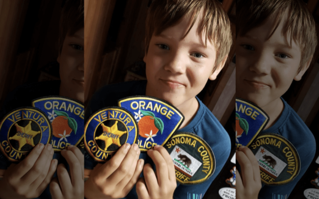 Can you donate a patch for LEO children suffering enormous loss?