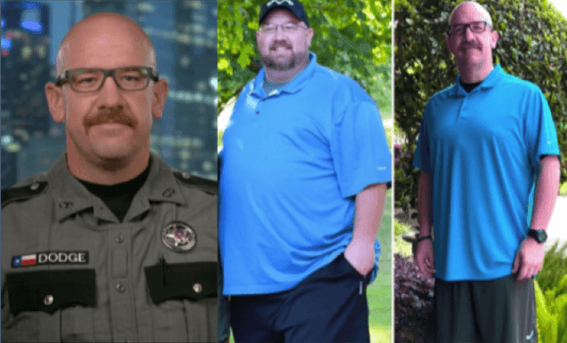 Former reporter loses 250 pounds and becomes a Texas deputy