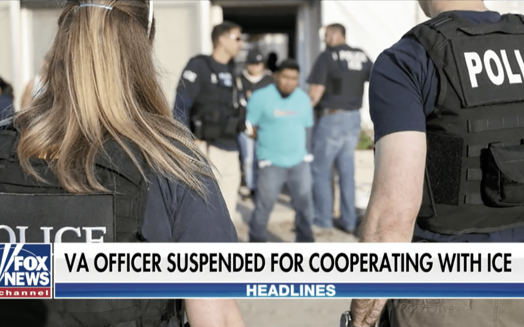 Virginia police officer suspended after releasing undocumented immigrant with warrant to ICE
