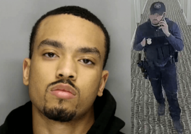 Disgraced ex-cop busted committing armed robbery wearing police uniform