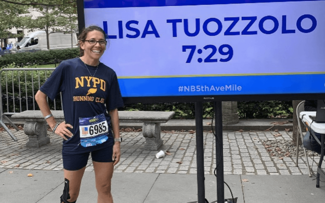 NYPD widow running New York City Marathon to assist families of fallen officers