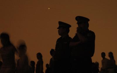 cowardly police leaders