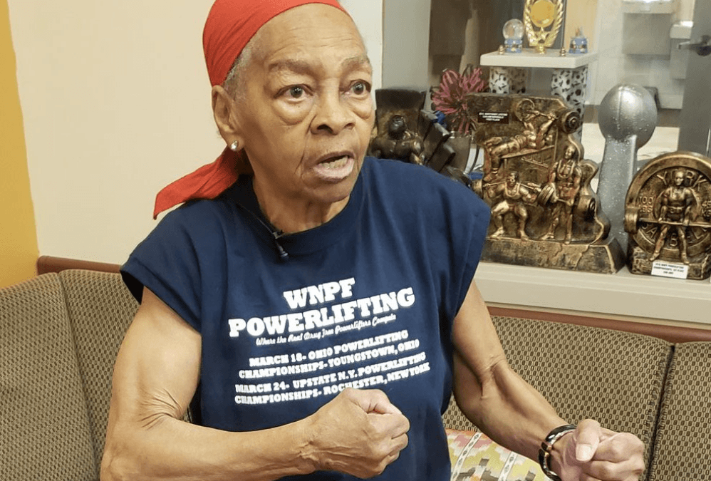 Female powerlifter, 82, fights off home intruder: 'He picked the wrong house'