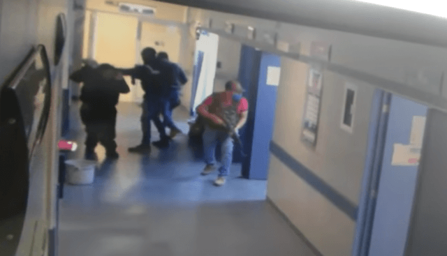 VIDEO: Heavily armed Mexican gunman kidnap hospital patient who is later found dismembered