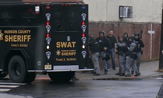 New Jersey police officer among six dead after bloody shootout